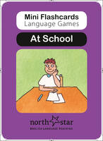 Miniflashcard Language Games: At School