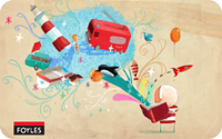 Gift Card 50 GBP Oliver Jeffers