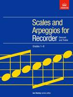 Recorder Scales Ab Grades 1-8