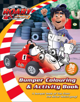 """""""Roary the Racing Car""""  - Bumper Colouring and Activity Book"""
