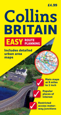 Easy Route Planning Map Britain