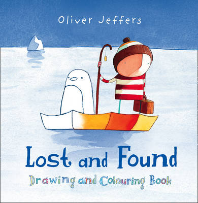 Lost and Found Drawing and Colouring Book