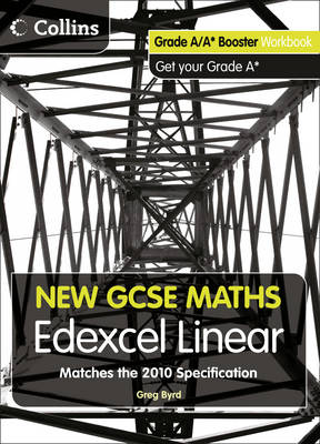 New GCSE Maths - Grade A/A* Booster Workbook: Edexcel Linear
