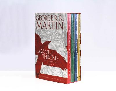 A Game of Thrones: The Graphic Novels Volumes 1-4: Volumes 1-4