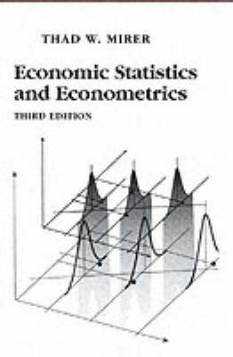 Economic Statistics and Econometrics