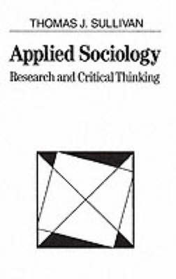 sociology and critical thinking questions Sociologists seek to answer these questions using research methods such as   in sociology offers you the opportunity to develop analytical and critical thinking.