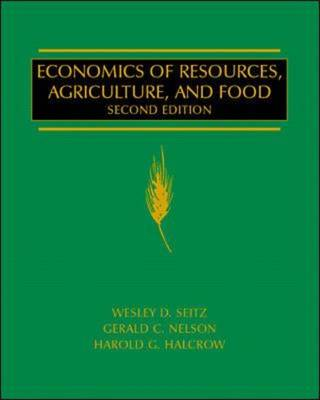 Economics of Resources, Agriculture and Food