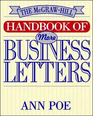 McGraw-Hill Handbook of More Business Letters