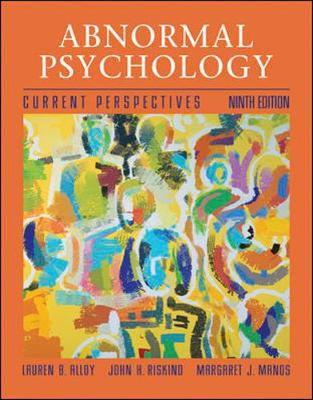 MP, Abnormal Psychology with Student CD and PowerWeb