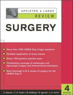 Appleton and Lange Review of Surgery