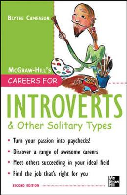 Careers for Introverts and Other Solitary Types