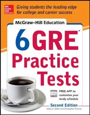 McGraw-Hill Education 6 GRE Practice Tests