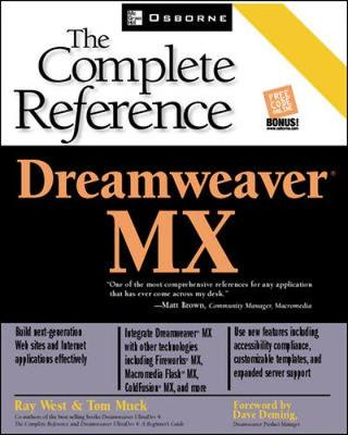Dreamweaver MX: The Complete Reference