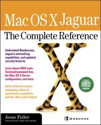 Mac OS X v10.2 Jaguar: The Complete Reference