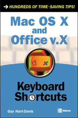 Mac OS X and Office V.X Keyboard Shortcuts