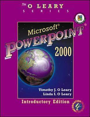 Microsoft PowerPoint 2000: Introductory Edition