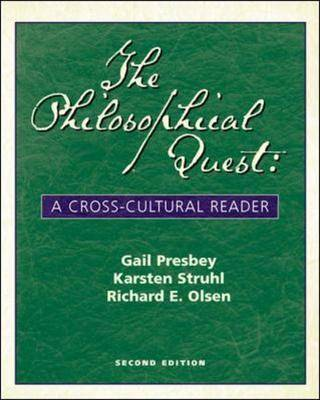 The Philosophical Quest: A Cross-cultural Reader: With Free Philosophy Powerweb