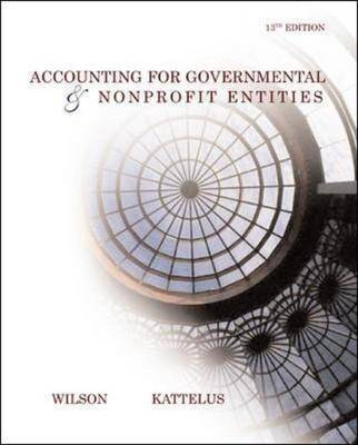Accounting for Governmental and Nonprofit Entities with City of Smithville: With City of Smithville