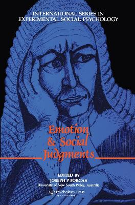 Emotion and Social Judgements