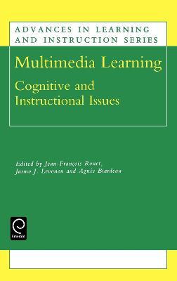 Multimedia Learning: Cognitive and Instructional Issues