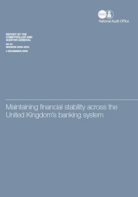 Maintaining financial stability across the UK's banking system: HM Treasury
