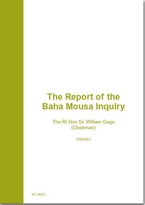 The Baha Mousa Public Inquiry Report