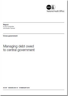 Managing debt owed to government: cross-Government