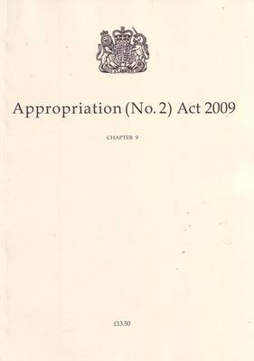 Appropriation (No. 2) Act 2009