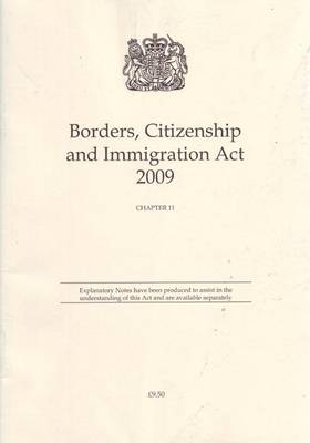 Borders, Citizenship and Immigration Act 2009