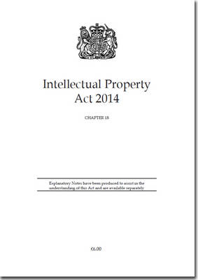 Intellectual Property Act 2014: Chapter 18