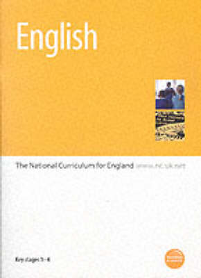 English: The National Curriculum for England: Key Stages 1-4