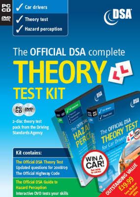 The Official DSA Complete Theory Test Kit for Car Drivers: 2008/09: Valid for Tests Taken from 1 September 2008