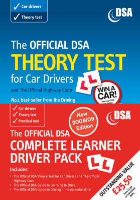 The Official DSA Complete Learner Driver Pack: Valid for Tests Taken from 1 September 2008
