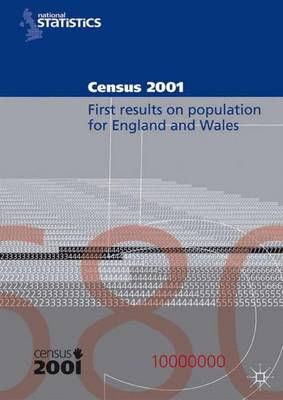 Census 2001: First Results on Population for England and Wales