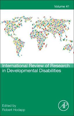 International Review of Research in Developmental Disabilities: Volume 41