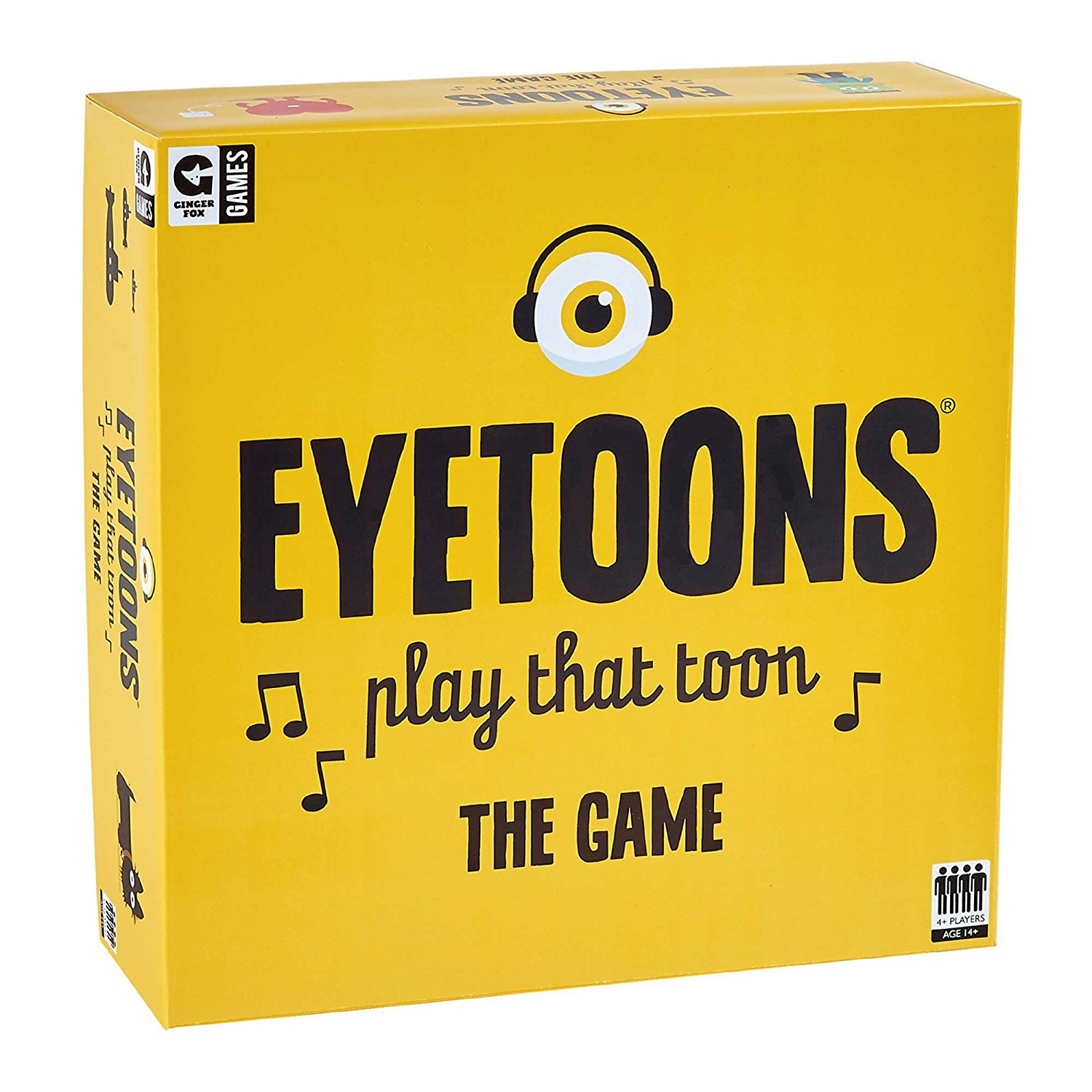 Eyetoons the Boardgame