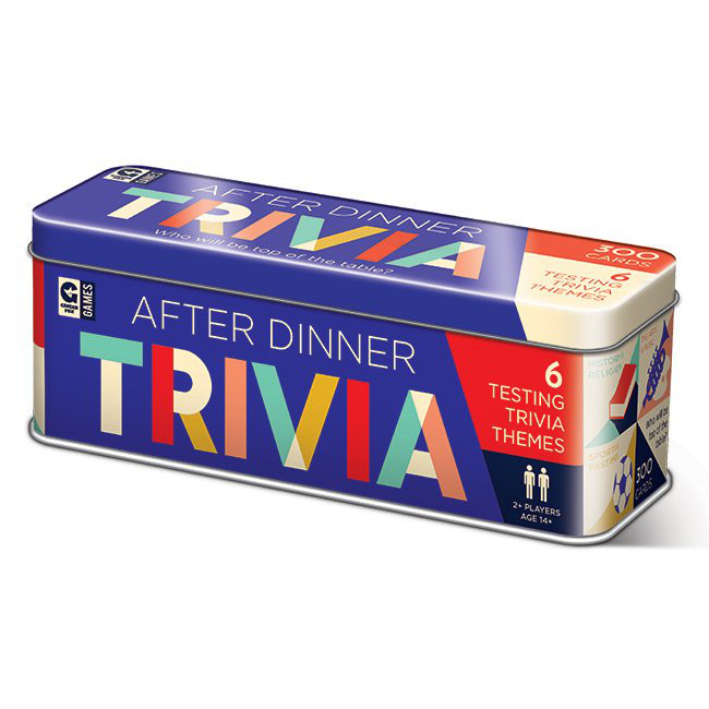 After Dinner Trivia Tin Game