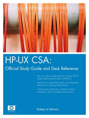 HP-UX CSA: Official Study Guide and Reference