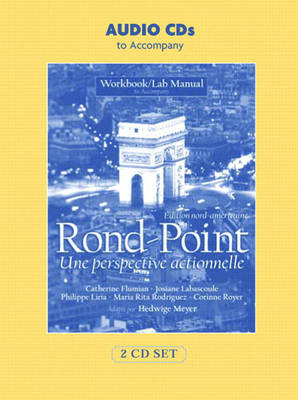 Audio CDs for Workbook/Lab Manual for Rond-Point