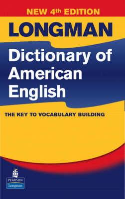 Longman Dictionary of American English, 4th Edition (hardcover without CD-ROM)