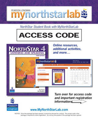 MyNorthStarLab, NorthStar Listening and Speaking 4 (Student Access Code only)