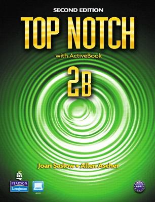 Top Notch 2B Split: Student Book with Activebook and Workbook and MyEnglishLab