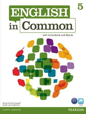 MyLab English: English in Common 5 (Student Access Code Card)