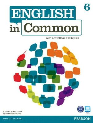MyEnglishLab: English in Common 6 (Student Access Code Card)