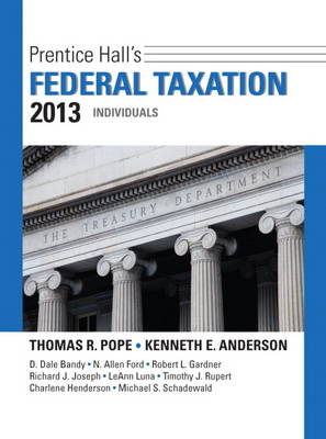 Prentice Hall's Federal Taxation 2013 Individuals