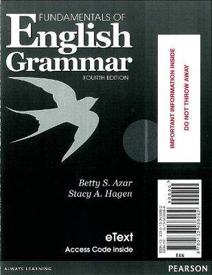 Fundamentals of English Grammar eTEXT with Audio; without Answer Key (Access Card)