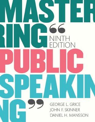 Mastering Public Speaking Plus NEW MyCommunicationLab for Public Speaking -- Access Card Package