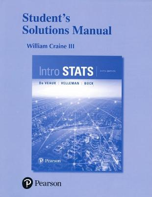 Student's Solutions Manual for Intro Stats