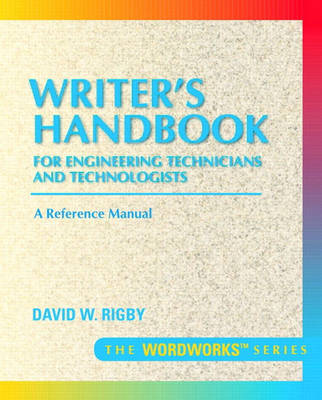 Writer's Handbook for Engineering Technicians and Technologists