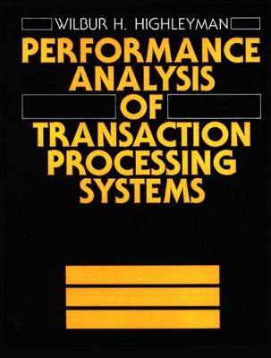 Performance Manual of Transaction Processing Systems